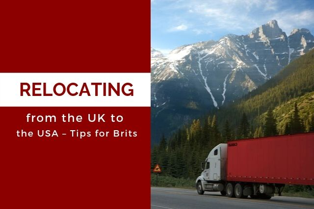 Relocating from the UK to the USA – Tips for Brits