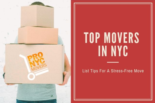 Top Movers in NYC list tips for a stress-free move