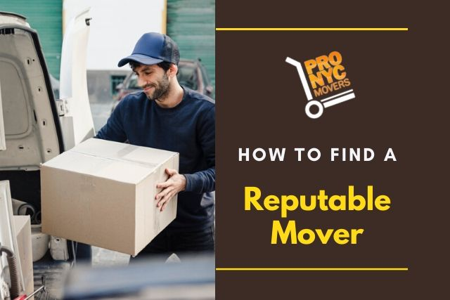 How to Find a Reputable Mover
